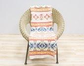 Reserved for Sandra: Esmond Camp Blanket / Trade Blanket
