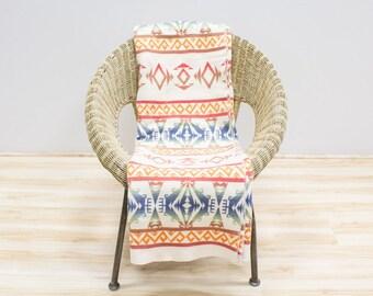 Esmond Camp Blanket / Trade Blanket, Native American Design, Vintage