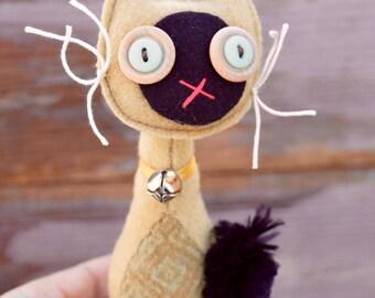 Retro wool Cat Siamese (#2)
