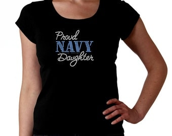 Navy Daughter T-shirt – SUPER QUICK GIFTS