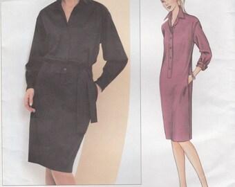 Donna Karan Dress Pattern Vogue 2680 Sizes 12 - 16 Uncut