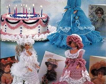 Anniversary & Birthday Fashion Dolls Crochet Pattern Annie's Attic 879001