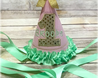 Birthday Hat Made to Match Your Outfit