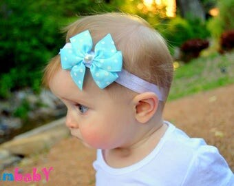 Baby headbands, newborn headband, Baby girl headbands hair bows ,Baby girl Headband, Baby hair bows, Infant toddler headband, pearl headband