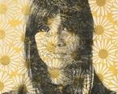 Francoise Hardy Daisy Print by Tania Qurashi