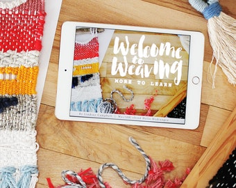eBook and Video Course | Welcome to Weaving: More to Learn Intermediate Class
