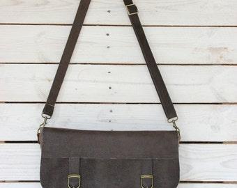 Vegan crossbody bag, Leather messenger bag men, Urban bag, Mens canvas messenger bag, Mens cross body bags