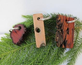 Reclaimed Driftwood Key Chain, Rustic Keychain, Keychain for Her, Key Chain for Him, Keychains for women, Keychains for men, Custom Keychain