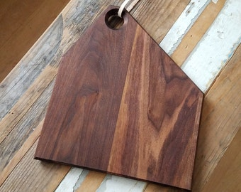 walnut cutting board 13 x 11.5