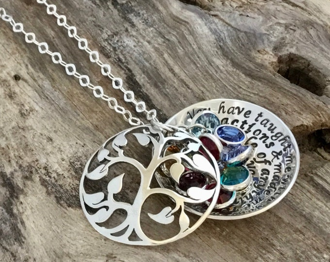 Mom Jewelry Personalized From Daughter Gifts For Birthday