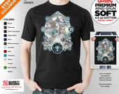 T Shirt of my Legend of Zelda Breath of the Wild inspired painting clothing design for Men and Women by Barrett Biggers