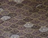 Kiku Vintage Japanese mixed wool kimono fabric