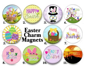 Easter Charm Magnets ~ Your Choice of One Magnet ~