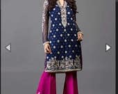 Zainab Chottani Royal blue and Cherry, Listing Reserved for Henna Iqbal