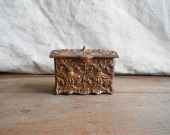 Little Metal Trinket Box