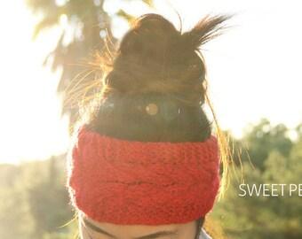 Cozy Warm Knit Headband, Knit Headband, Knit Beanie, Turban, Cute Turban Headband, Ear Warmer, Winter Hairband, Fast Shipping, Holiday Gift