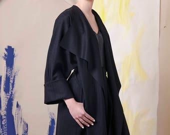 Coat Kimono black