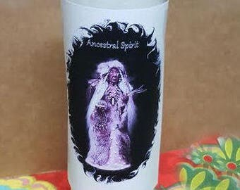 Ancestral, Candle , 7 day, Candle,Altar, Ritul, Wiccan, Hoodoo, Voodoo, Pagan
