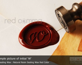 Sealing wax stamps, cursive alphabet sealing stamp, cursive 26 letters from A-Z - WS001