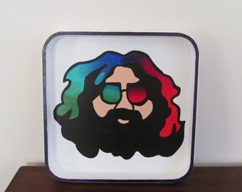 Grateful Dead Jerry Garcia Tray