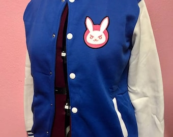 D.Va Overwatch inspired Varsity Jacket