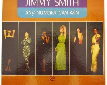 Vintage 60s Jimmy Smith Any Number Can Win Jazz Gatefold Album Record Vinyl LP