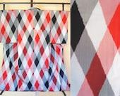 Japanese silk kimono red ...