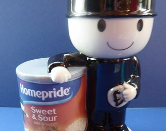 Wade (Key Kollectables) Sweet and Sour Sauce Fred  / Homepride Fred CERAMIC Figurine Bank or Money Box. Limited edition