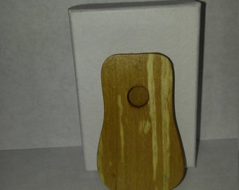 Guitar Pick Case - Acoustic (Spalted Birch)