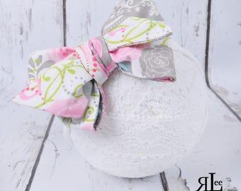 Victoria Bow - Victoria Headband - Victoria Clip - Faux Headwrap Bow