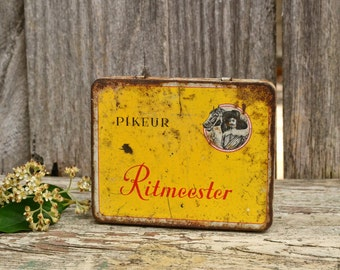 Vintage Collectible Ritmeester Pikeur Cigar Tin