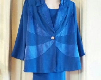 Vintage B.M.I. Studio Dressy Suit Size 22