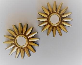"""6""""H, Wall Mirrors, Sunburst Mirrors, Round Mirrors, Gold Mirrors, Decorative Wall Mirrors, Small Wall Mirrors, Decorative Mirrors, Item 9002"""