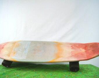 Vintage Caliente 500 SKATEBOARD - 70s Skateboard by Modern Plastics Co., Compton California - Calienta Banana Board - Longboard