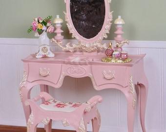 OOAK Susy Goose Barbie vanity & perfume bottle set