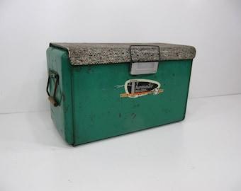Vintage Cooler, Ice Chest, Thermaster, Picnic Cooler, Beverage Cooler, Poloron, Pop Cooler