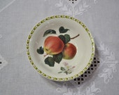 RESERVED Vintage Queens Hookers Fruit Soup Cereal Bowl Apple Blossom Royal Horticultural Society India PanchosPorch