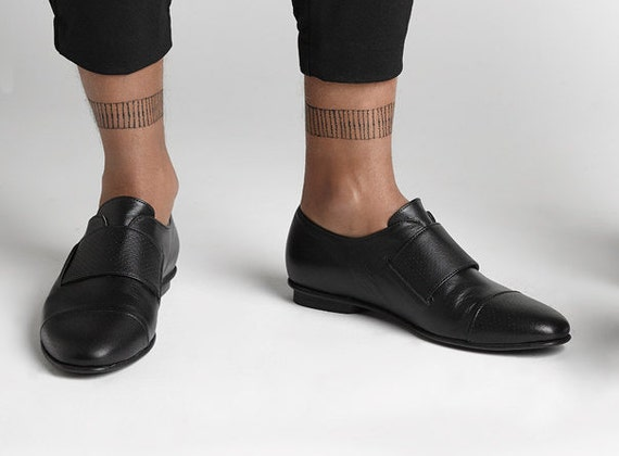 30% SALE black oxford men shoes leather men oxford shoes