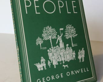 The English People George Orwell Penguin Hardback Book 1947 Classic Vintage Books