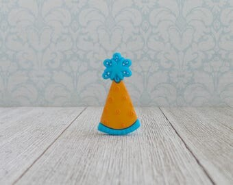 Party Hat - Birthday - Celebrate - Lapel Pin