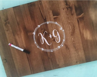 PERSONALIZED Guest Book, Wedding Guest Book, Sign, Guest book alternative, Custom guest book