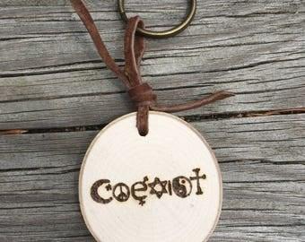 Coexist Keychain