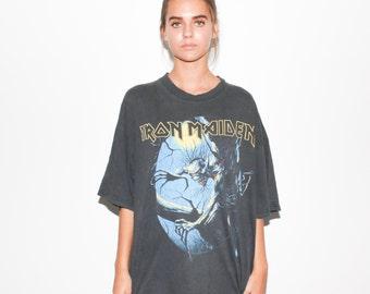 1992 Iron Maiden Fear Of The Dark 90s Tour Heavy Metal T Shirt