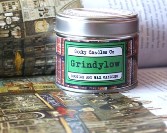 Grindylow Scented Candle - Book Candle - Cola Cubes Candle - Bookish Candle - Geeky Candles  Co