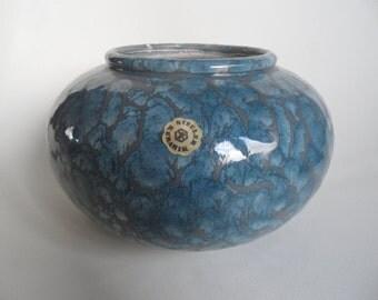 Steuler german pottery vase number 262/73,german collectible ceramic,Steuler pottery