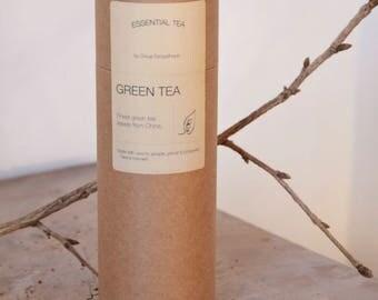GREEN Tea. Finest green tea leaves, from organic & fair agriculture.
