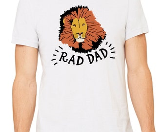 The Protector Tee, t-shirt, dad shirt, t shirt, gift for dad, dad stuff, lion
