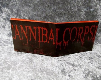 Cannibal Corpse Wallet DIY Death Metal Upcycled Magazine #2