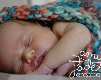 Photography Prop / Woollen Cocoon / Baby Photography Prop / Baby Cocoon / Knitted Baby Photo Prop