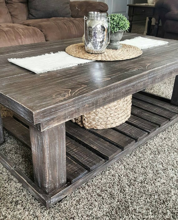 Local Pickup Only - Coffee Table - Farmhouse Coffee Table - Planked Coffee Table